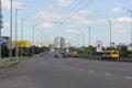 Urban transport on highway