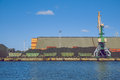 Urban Venspils industry park. Royalty Free Stock Photo