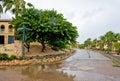 Urbanización tropical Imágenes de archivo libres de regalías