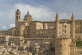 Urbino is a city in the marche in italy southwest of pesaro Stock Photography
