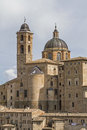 Urbino is a city in the marche region in italy southwest of pesaro Stock Photography