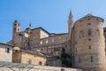 Urbino Ducal Palace Royalty Free Stock Photo