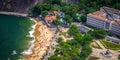 Urca aerial view of neighborhood from sugarloaf mountain rio de janeiro brazil Stock Photos