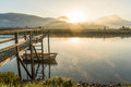 Urdaibai biosphere at biscay, spain Royalty Free Stock Photo