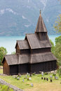 Urnes stave church Royalty Free Stock Photography