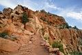 Uroczystego jaru park narodowy, Arizona usa Obraz Royalty Free