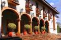 Hotel in Uruapan michoacan, mexico I Royalty Free Stock Photo