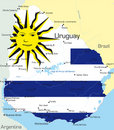 Uruguay Royalty Free Stock Photography
