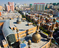 Urumqi city skyline, Xinjiang China Royalty Free Stock Image