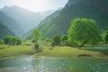 Urungach Lake Uzbekistan Royalty Free Stock Photo