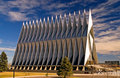 US Air Force Academy Chapel Stock Image