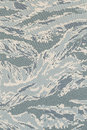 US air force digital tigerstripe abu camouflage fabric Royalty Free Stock Photo