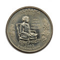 US Alabama quarter dollar Royalty Free Stock Photo