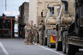 US Army Convoy Personnel