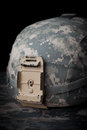 US Army Helmet Royalty Free Stock Photo