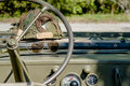 US Army jeep Royalty Free Stock Photo