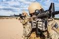 Fuerzas grupo soldado