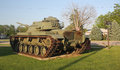 US Army tank Royalty Free Stock Photo