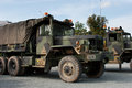 Us army truck cold war used in the at the german border by the nd cavalry regiment Royalty Free Stock Photography