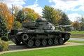 Us army wwll military tank Royalty Free Stock Photo