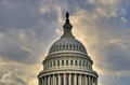 US Capitol Dome Royalty Free Stock Photo