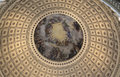 The us capitol rotunda hdr horizontal image Stock Photos