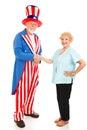 US Citizenship Royalty Free Stock Photo