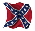 US Confederacy flag Royalty Free Stock Photography
