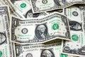 US dollar bills Royalty Free Stock Photo
