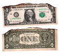 Us dollar close up of abstract background Royalty Free Stock Photo
