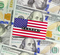US economy Royalty Free Stock Photo