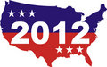 US Election 2012 Stock Photo