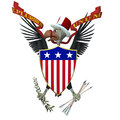 US Emblem - Vulture 1 Royalty Free Stock Images