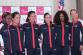 US Fed Cup team Royalty Free Stock Image