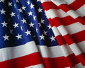 US Flag Royalty Free Stock Photography