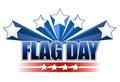 US flag day stars illustration design Stock Photos