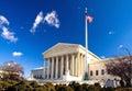 US-Gericht-Gebäude Stockfotografie