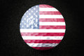 US Golf Ball. Royalty Free Stock Image