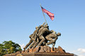 Us marine corps war memorial in arlington virginia usa Stock Images