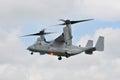 US Marines Osprey Tilt Rotor Royalty Free Stock Image
