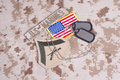 Us marines veterans background concept Stock Photo