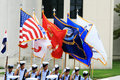 US Military Color Guard Stock Photos