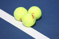 Us open wilson tennis ball at billie jean king national tennis center in new york september is the official Royalty Free Stock Images