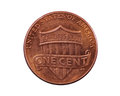 US Shield Penny Coin Royalty Free Stock Photography