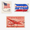 Us Stamps Royalty Free Stock Photo