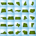 US State Maps Set II
