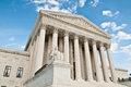 Us supreme court building the united states in washington dc Royalty Free Stock Image
