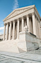 Us supreme court building the united states in washington dc Stock Photography