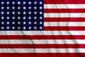 USA American flag Royalty Free Stock Photo