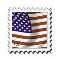 Usa american stamp Royalty Free Stock Images